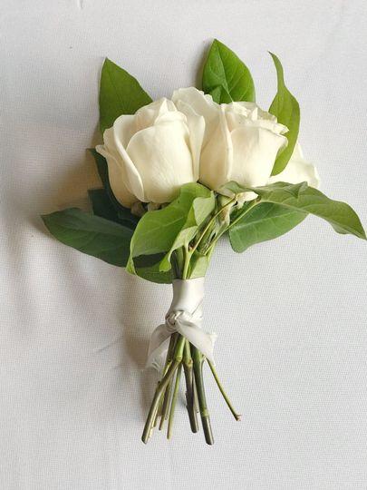 Custom made throwaway bouquet