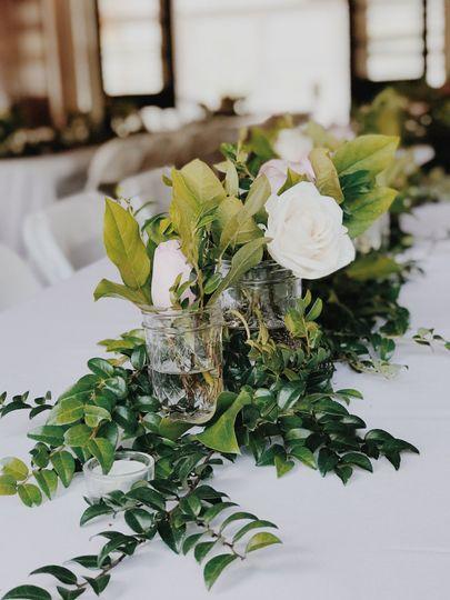 roses, salal evergreen, huckleberry