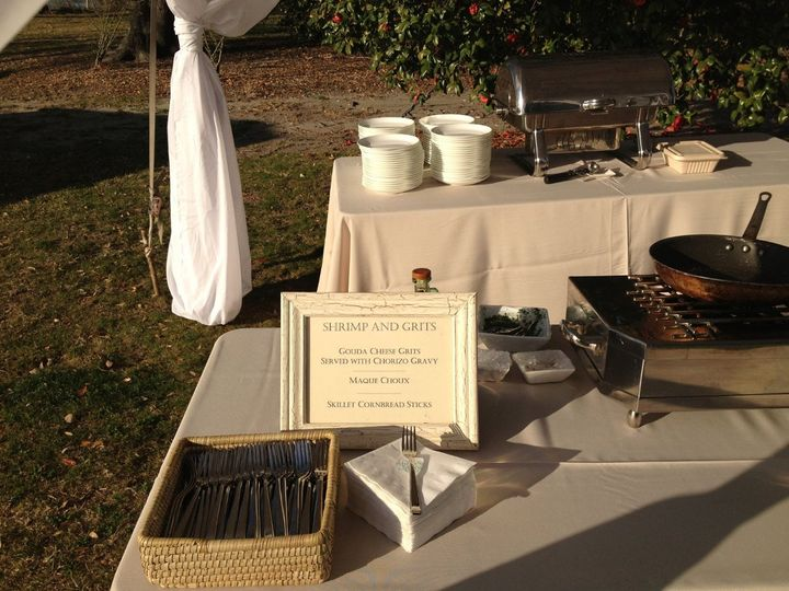 The stations were strategically placed on the plantation grounds as the guests mingled and enjoyed a...