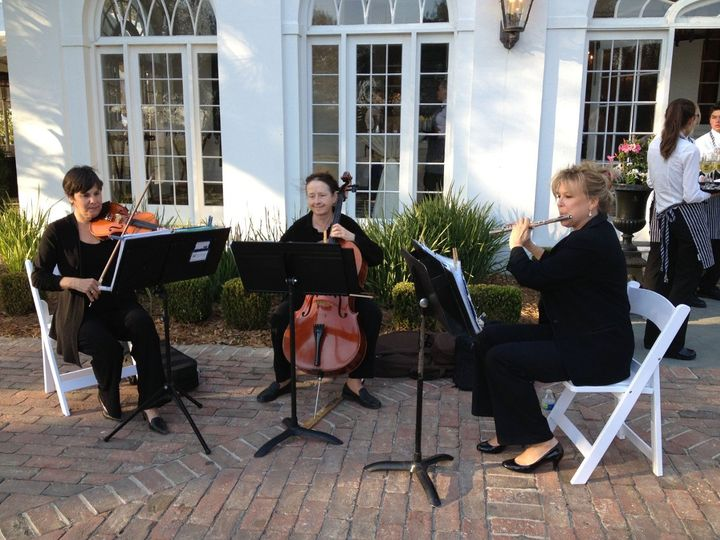 Julie Diamond Ensembles provided the perfect mix of light classical and contemporary music for the...