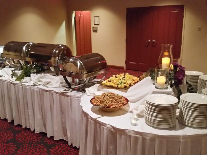 Tmx 1455725472331 Buffet Setup 1 Pewaukee, WI wedding venue