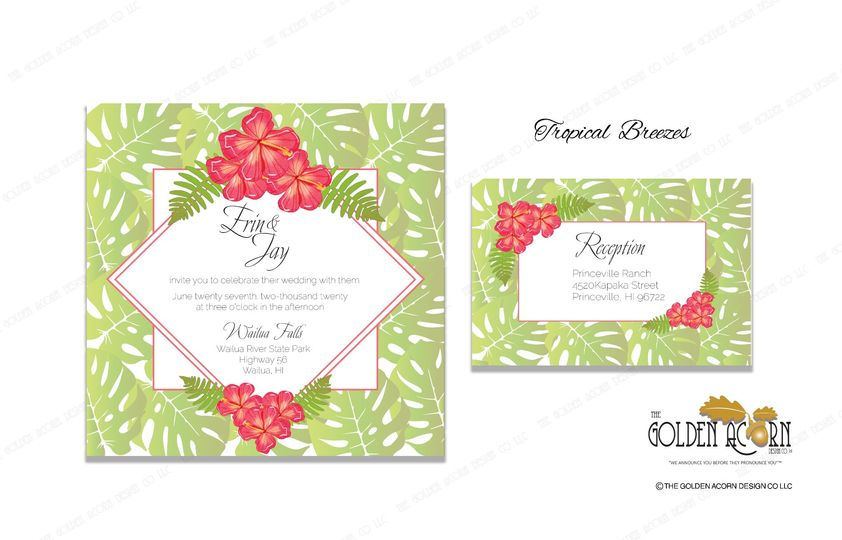 NEW DESIGN Tropical Breezes