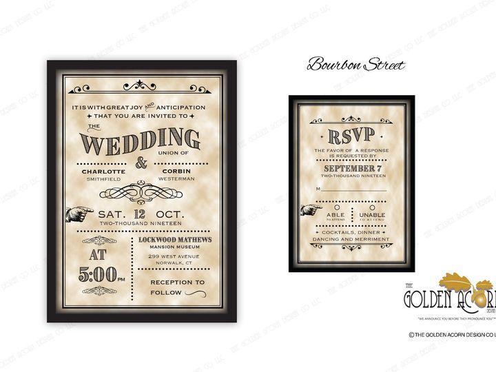 Tmx Online Gallery Burboun Street 51 777866 158576249429949 Yantic, CT wedding invitation