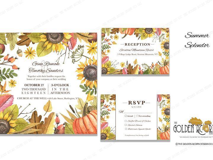 Tmx Online Gallery Summer Splendor 51 777866 158576250254882 Yantic, CT wedding invitation