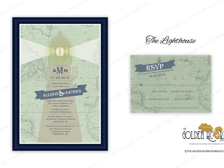 Tmx Online Gallery The Lighthouse 51 777866 158576250360628 Yantic, CT wedding invitation