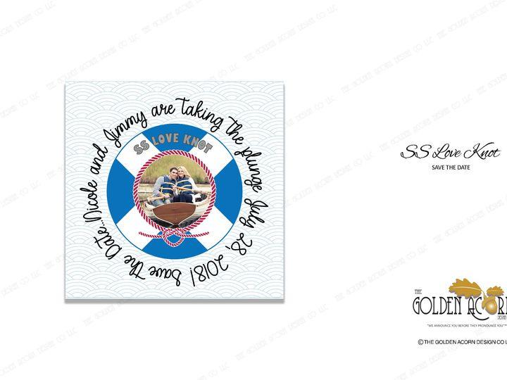 Tmx Std Onliine Gallery Ss Love Knot 51 777866 158576327596252 Yantic, CT wedding invitation