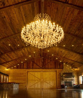 Atkinson Farms chandelier