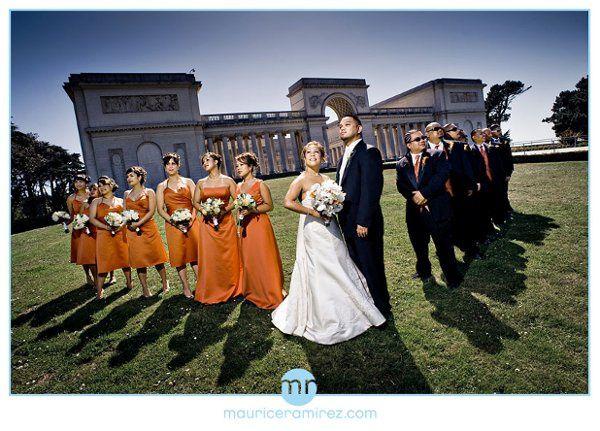 Ron & April's wedding