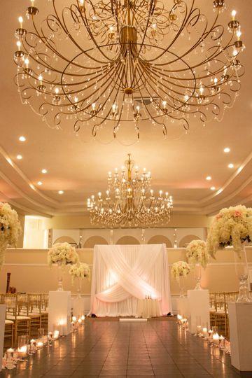 Glam wedding