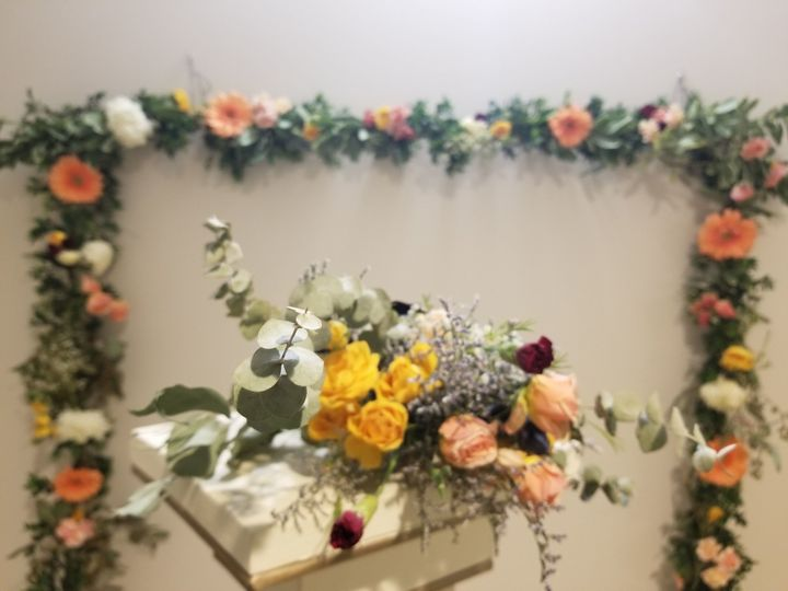 Our absolute favorite floral project to work on is a floral backdrop. Call us today and let's get...