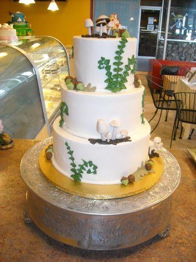 Mushroom Cake :)