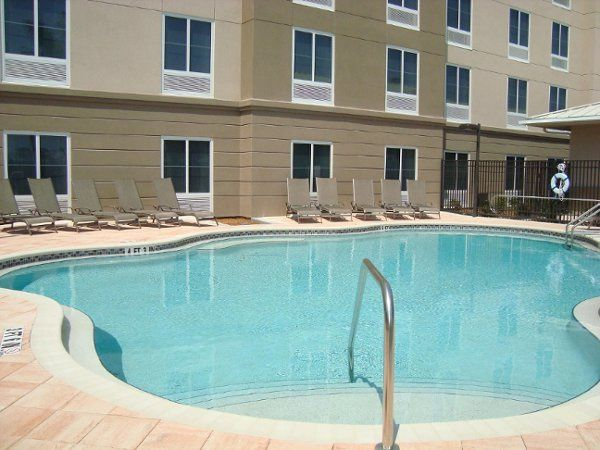 Come and take a dip in our Outdoor Heated Pool or Sit Poolside at our Firepit and Have Dinner using...