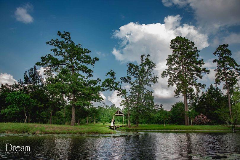 Pond & Charming Gardens