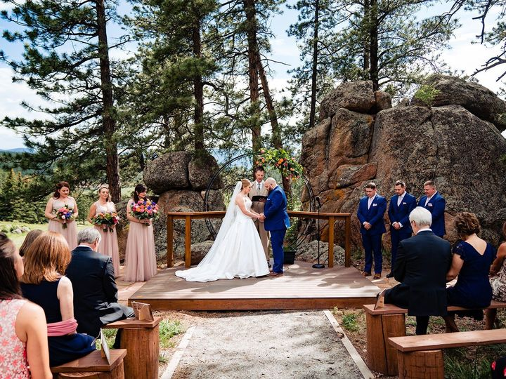 Tmx Stunning Pine Cathedral Ceremony Site 51 1015966 1563206505 Bailey, CO wedding venue