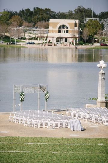 Venue by the lake