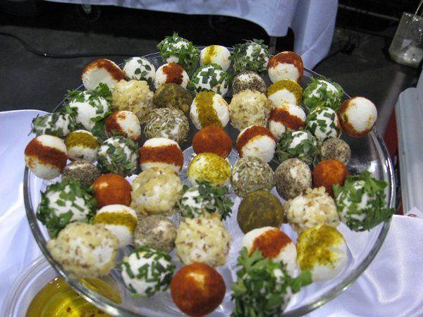 Tmx 1281135603752 Spicedgoatcheeseballs Edgerton, KS wedding catering