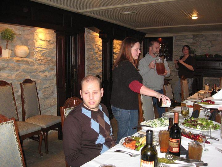 Tmx 1340994272319 Jeremykristimarkandkatxmasdinner2008 Edgerton, KS wedding catering