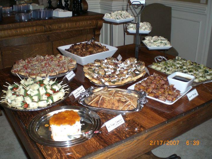 Tmx 1340994777751 Tablefullofapps Edgerton, KS wedding catering