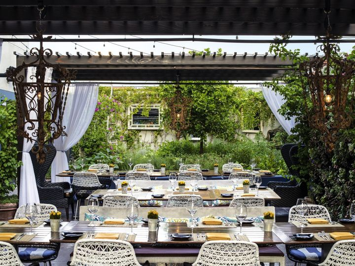 Tmx 1462213752270 Le Jardin With Dinner Set Up  Los Angeles, CA wedding venue