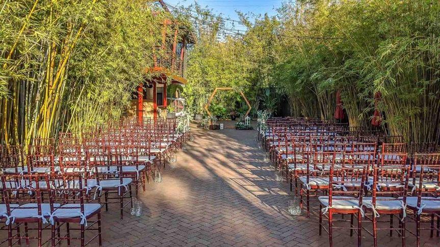 NOVA Courtyard Ceremony