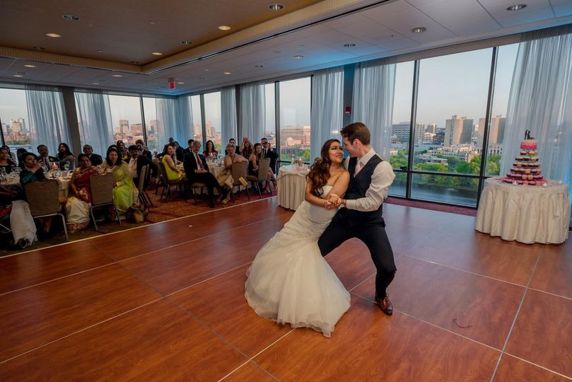 First dance in Charles View Ballroom