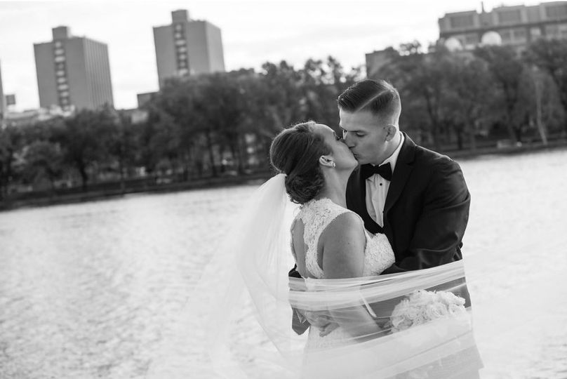 Couple Photo | Charles River View | BU