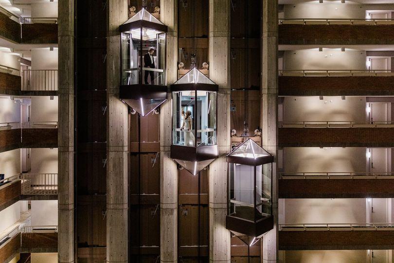 Elevator Shots I Atrium