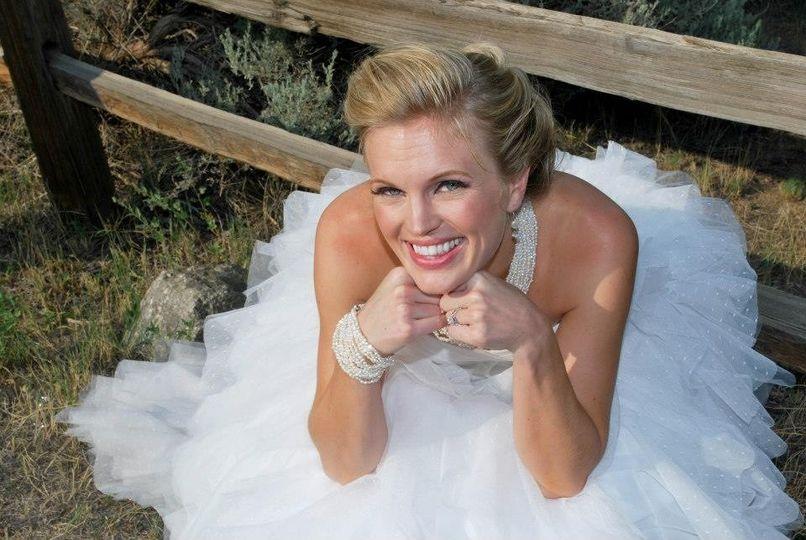 Bubbly bride