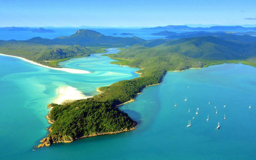 Vacation islands