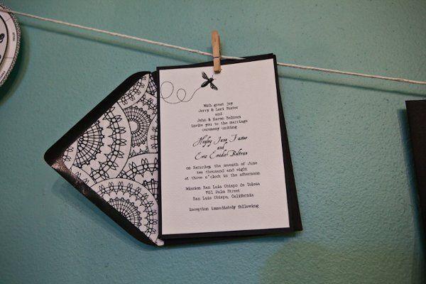 Tmx 1333053298414 Paperskysm60 San Luis Obispo wedding invitation