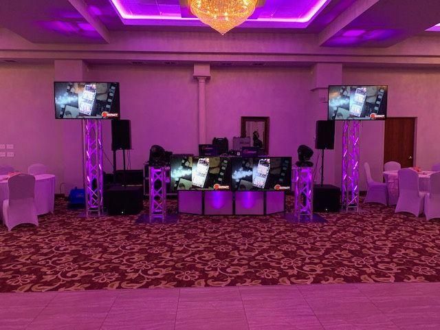Four LED set-up