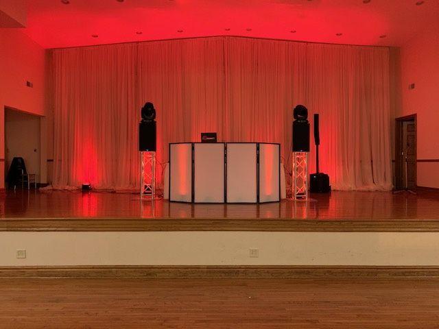 Stage basic set-up
