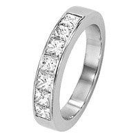 Tmx 1447439356513 1 Carat Princess Band Portland wedding jewelry
