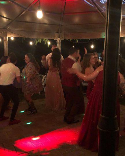 Guests dancing!