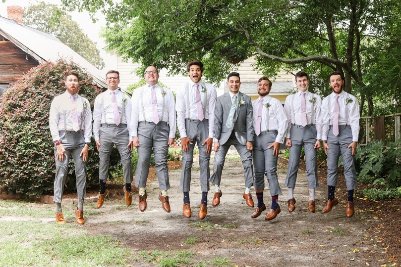 Awesome groomsmen!