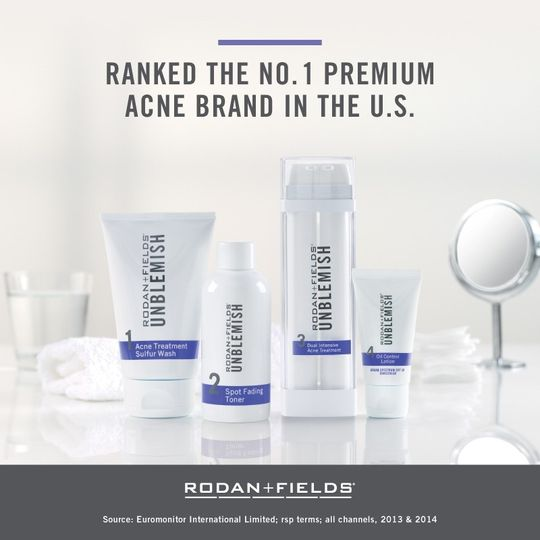 news unb ranked 1 acne premium brand