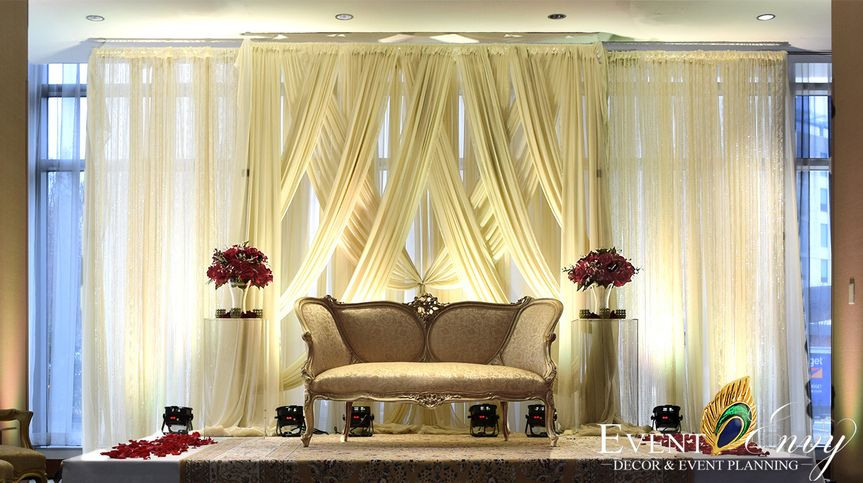 Reception Stage Decor
