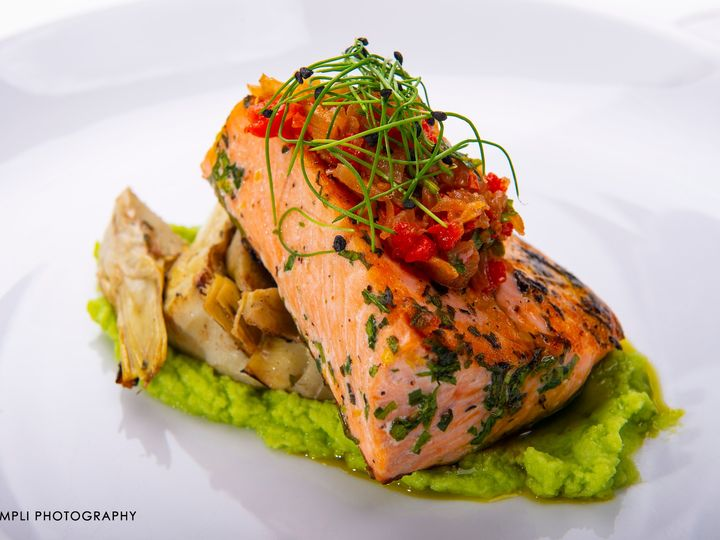 Tmx Jsc Pan Seared Wild Salmon Roasted Tomato Sauce With Fava Bean Puree Campliphoto 6 51 728076 158517313169613 Glenmoore, PA wedding venue