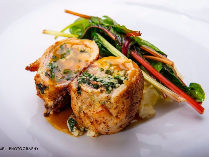 Tmx Jsc Spinach And Pancetta Stuffed Chicken Lemon Chicken Jus Blue Cheese With Mashed Potatoes And Swiss Chard Campliphoto 51 728076 158517313122278 Glenmoore, PA wedding venue