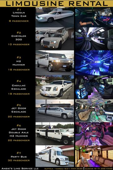 Mark Of Elegance Limo >> ANGIE'S LIMO SERVICE LLC Reviews & Ratings, Wedding Transportation, New York - Long Island and ...