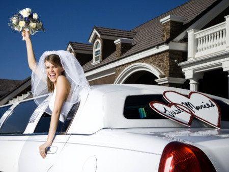 bride limo