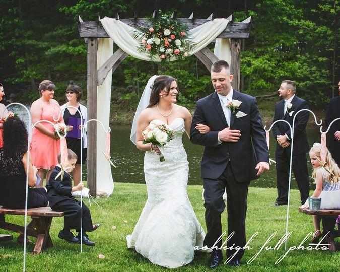 Pond Wedding