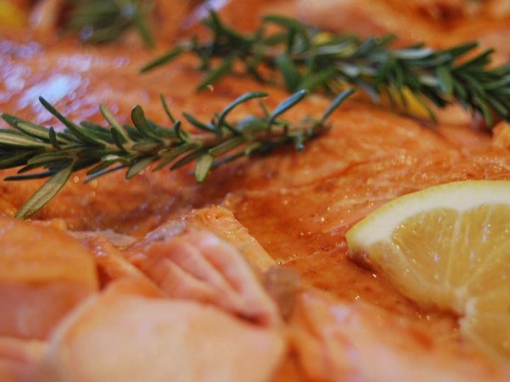 Tmx 1446323754072 Smoked Salmon For Catered Maine Wedding York Harbor, ME wedding catering