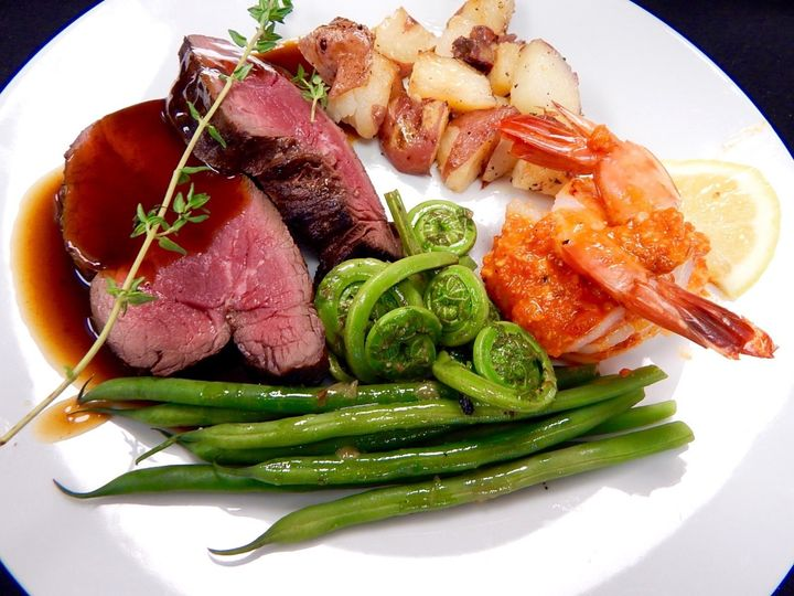 Tmx 1453572221638 Beef Tenderloin For A Catered York Maine Wedding York Harbor, ME wedding catering