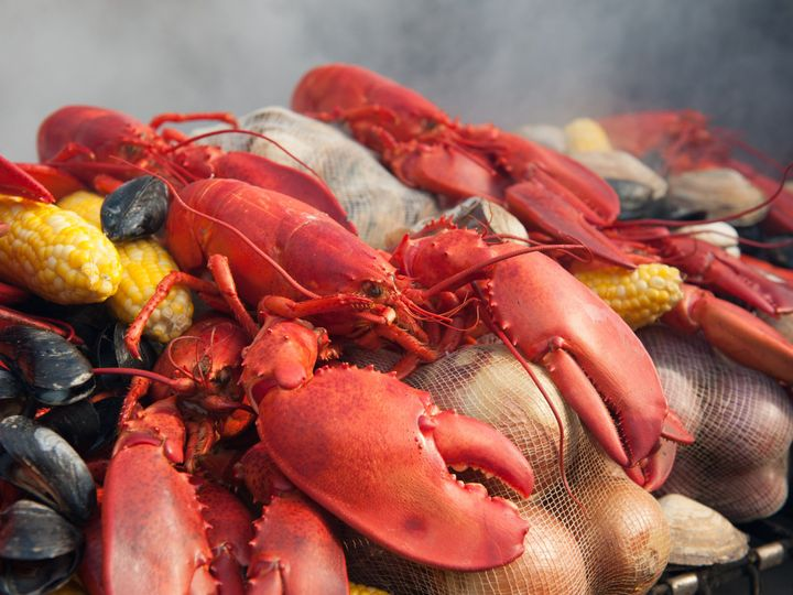 Tmx 1453572398746 Fosters Lobster And Corn Steaming York Harbor, ME wedding catering