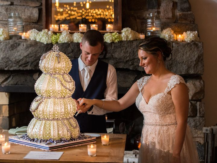 Tmx 1483067114524 Fosters Clambakes And Catering Rmw Cake Cutting Mc York Harbor, ME wedding catering