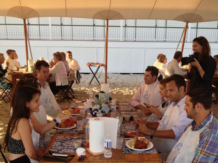Tmx 1516588979 47348826fd8510e6 1516588975 542ce1b54f042504 1516588965153 30 Group On Beach Wi York Harbor, ME wedding catering