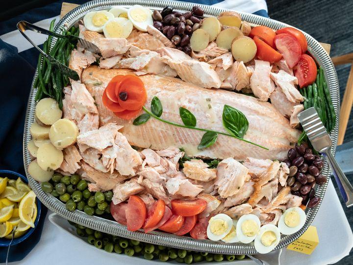 Tmx Salmon Nicoise Platter 51 11176 160848851233588 York Harbor, ME wedding catering