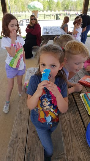 Granddaughter's day care party
