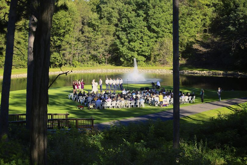 Wedding outdoors